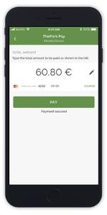 Paso de pago de TheFork PAY