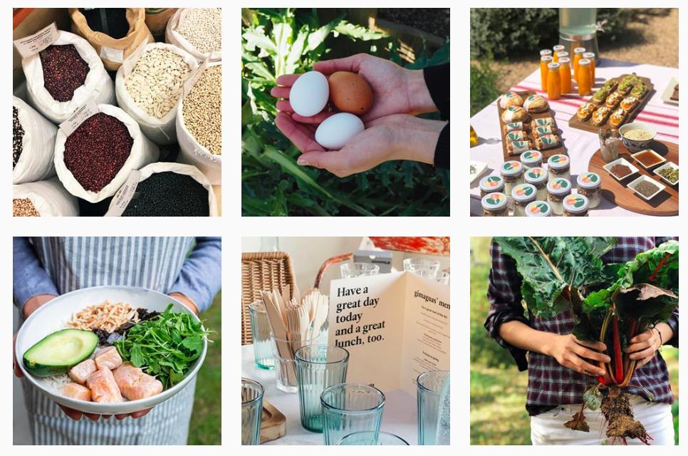 immagini del feed di Instagram ristorante enlagloria. Pubblicizzare ristorante Instagram