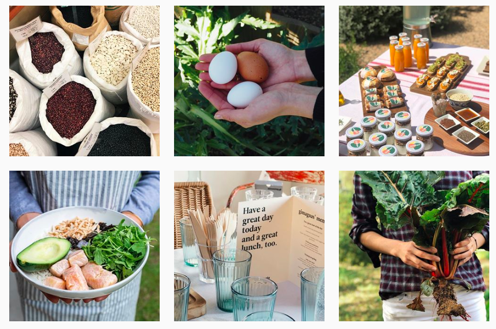 Imagens do feed do Instagram restaurante Enlagloria Promover restaurante Instagram
