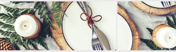 kerstgerecht tafels vullen restaurant