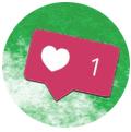 Mention J'aime sur Instagram. promouvoir restaurant instagram