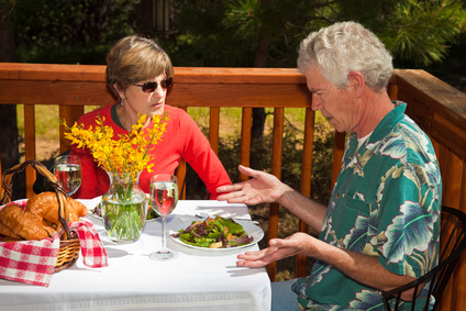 Restaurant Guest Unhappy with his Salad