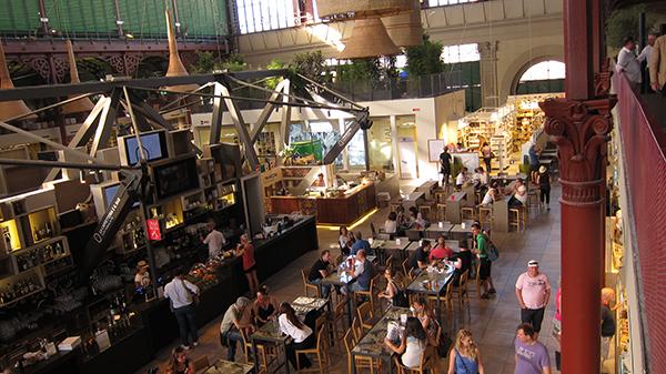 Gestione dei ristoranti thefork: foto panoramica mercato centrale firenze
