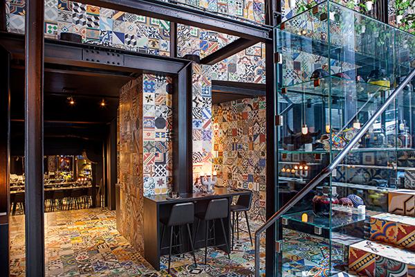Ristorante Llama a Copenhagen, è un esempio di come montare un ristorante con diverse camere. tendenze 2016