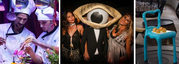TheFork fidélisation clients atmosphère surréaliste dans le restaurant Heart Ibiza