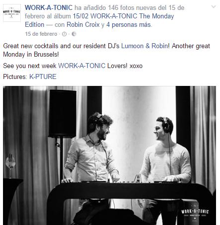 """TheFork Uw restaurant promoten met """"afterwork""""-evenementen - Restaurant Work-A-Tonic"""