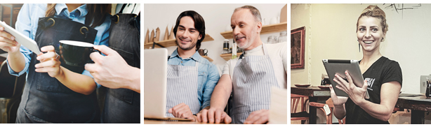 assumere personale assumere camerierieri che lavorano in un ristorante