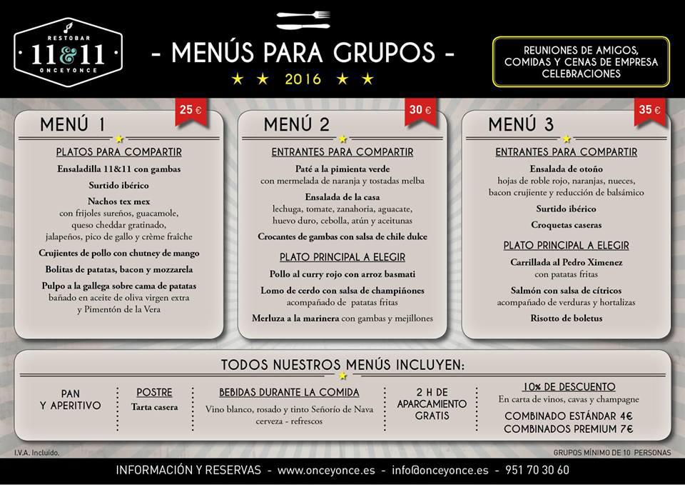 ElTenedor - Cómo captar clientes con menú de navidad - restaurante once y once