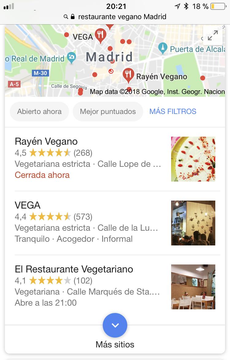 ElTenedor - cómo conseguir clientes para el restaurante con Google Adwords