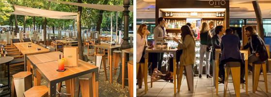 ElTenedor - conseguir clientes - terraza del restaurante Otto en Madrid