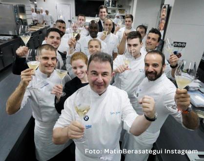 ElTenedor - Cómo es el equipo perfecto en gestión de restaurantes - Equipo restaurante Lasarte de Martín Berasategui