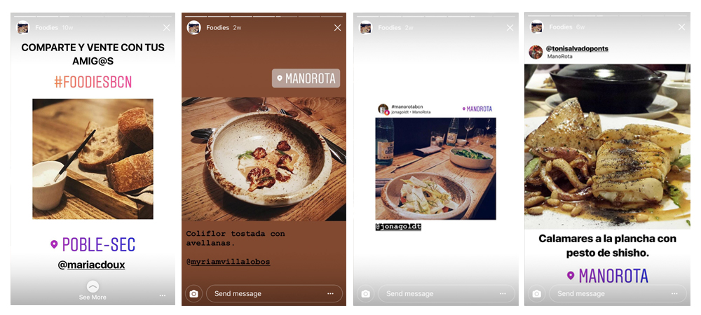 ElTenedor - Instagram Stories en marketing de restaurantes