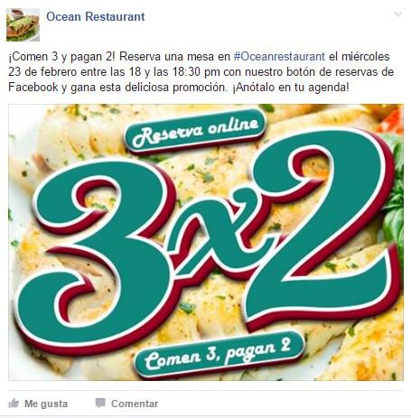 ElTenedor estrategias de marketing para restaurantes en Facebook