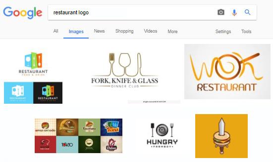 ElTenedor - Marketing de restaurantes - cómo crear el mejor logo - Búsqueda en google de logos