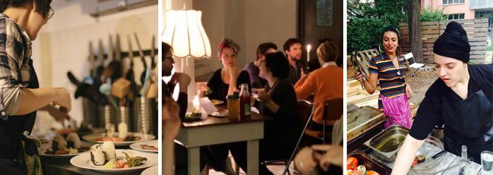 El restaurante Agora café en Berlín donde rotan sus chefs cada 3 meses para captar clientes.