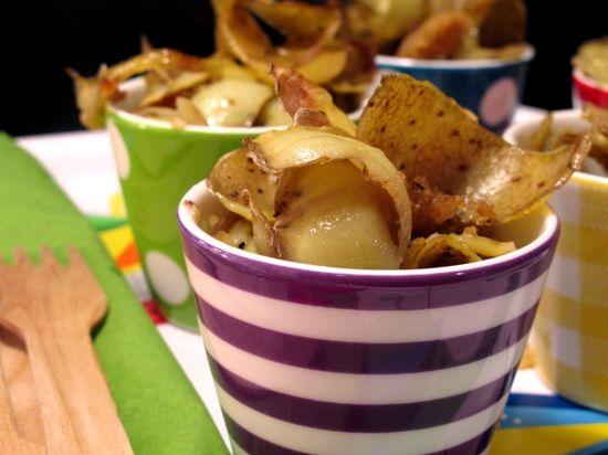 ElTenedor - Atraer clientes con las tendencias gastronómicas 2017 - trashcooking - plato con conchas de patata
