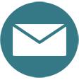 Software restaurante: icono de un sobre representando el servicio de correo de ElTenedor Manager