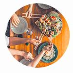 Hantera dina menyer för grupper med TheFork Manager
