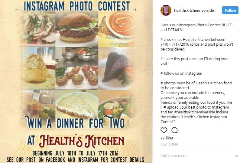 Iens Gasten aantrekken naar je restaurant met wedstrijden op sociale media