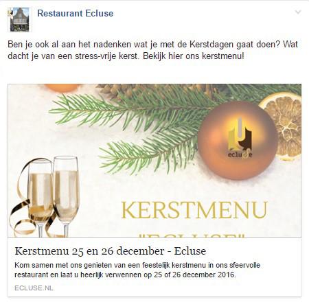 IENS Hoe ontvangt u meer gasten in uw restaurant voor kerstmis en oud en nieuw