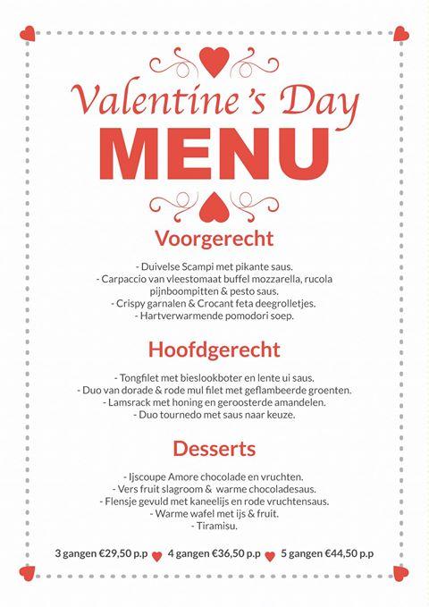 Iens Hoe vult u de tafels van uw restaurant met Valentijnsdag menu