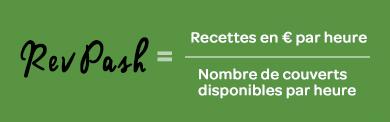 LaFourchette - Gestion de restaurant : le RevPash, la formule incontournable - formule revpash
