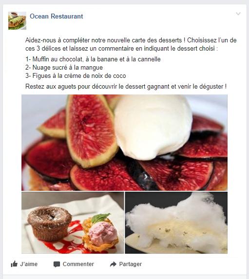 LaFourchette - Trouver des clients - Erreurs dans le profil Facebook du restaurant