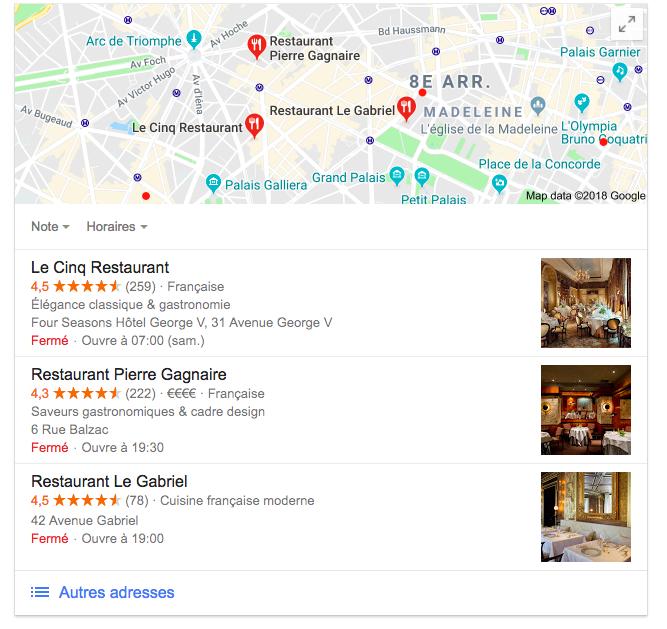 LaFourchette Comment attirer des clients dans votre restaurant avec Google Adwords