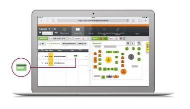 LaFourchette logiciel de gestion de restaurant - garantie carte de crédit