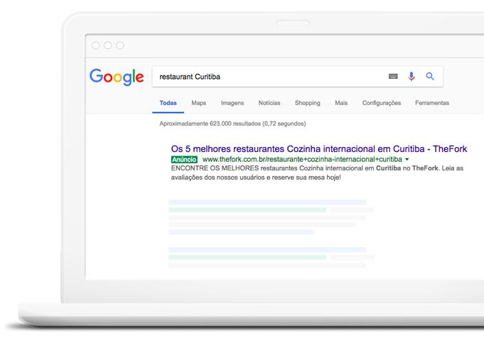 TheFork Como conseguir clientes para o restaurante com o Google Adwords