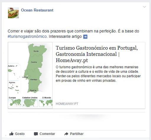 TheFork Erros no perfil do Facebook do restaurante - Atrair clientes