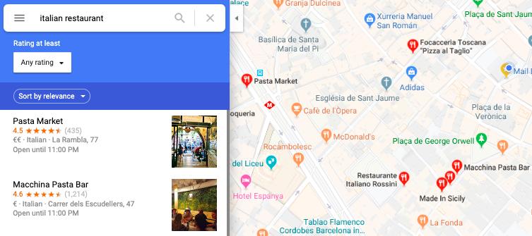 Hoe kunt u een restaurant aan Google Maps toevoegen