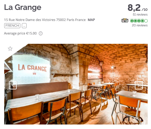 TheFork How to find the best restaurant names