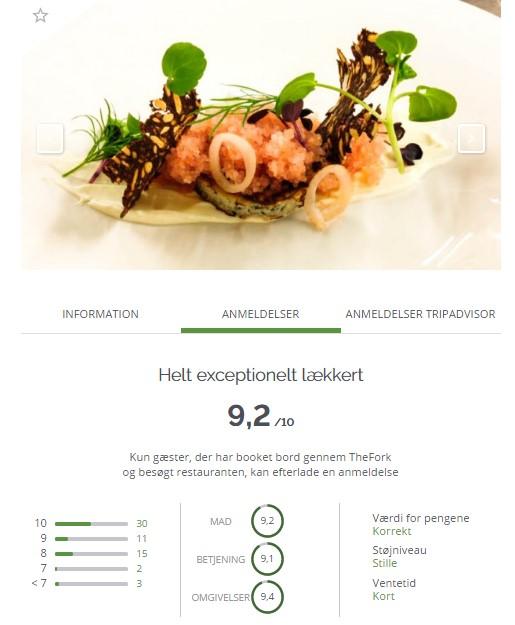 TheFork Hvordan påvirker online anmeldelser markedsføringen af restauranten?
