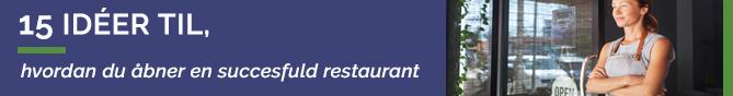TheFork idéer til at åbne en restaurant
