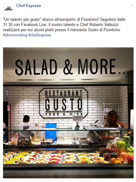 TheFork marketing per ristoranti facebook live