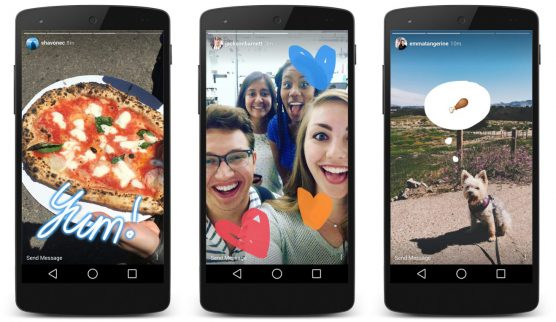 TheFork - Live video til marketing af restauranter - instagram stories