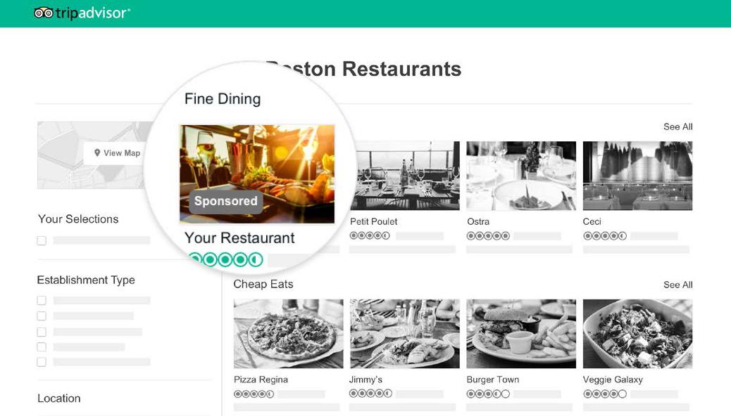 TheFork Locka kunder med annonserna på TripAdvisor