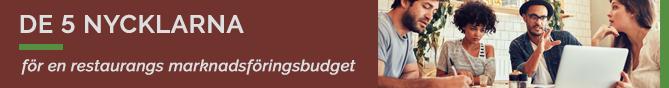TheFork marknadsföringsbudget för en restaurang
