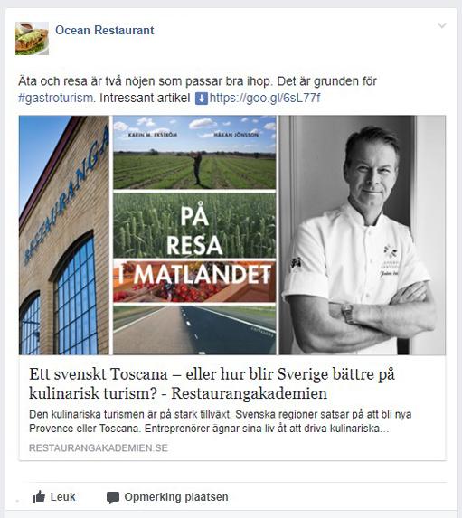 TheFork Misstag på restaurangens profil på Facebook locka kunder