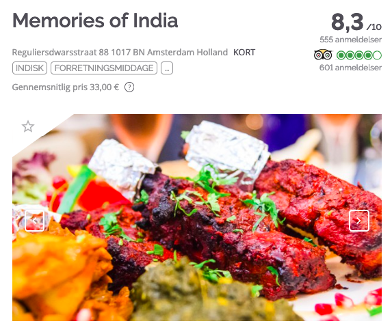 TheFork Sådan finder du de bedste navne til restauranter Memories of India