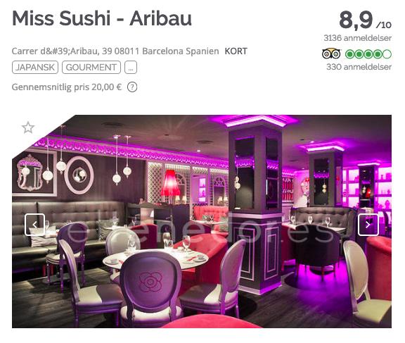TheFork Sådan finder du de bedste navne til restauranter Miss Sushi