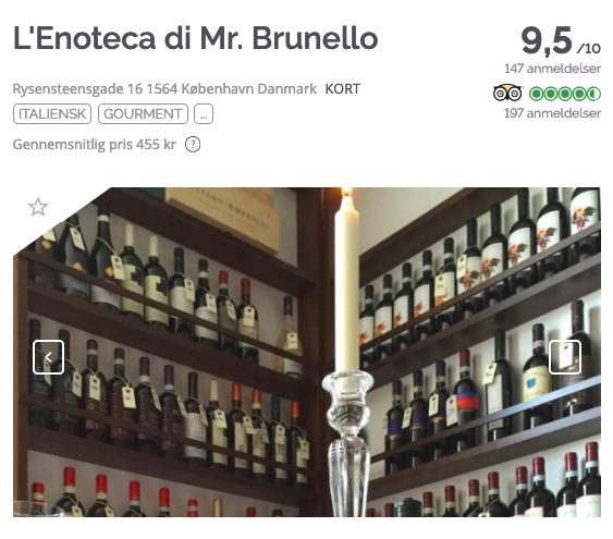 TheFork Sådan finder du de bedste navne til restauranter L'Enoteca di Mr. Brunello