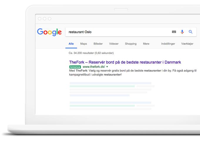 TheFork Sådan finder du gæster til din restaurant med Google AdWords