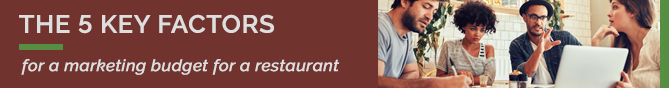 TheFork The 5 key factors for a marketing budget for a restaurant