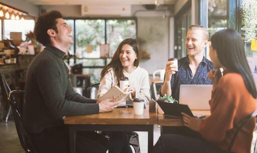 Clients aux restaurants