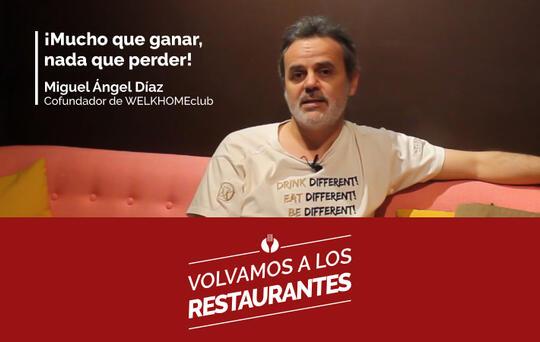 El restaurante WELKHOMEclub testimonio