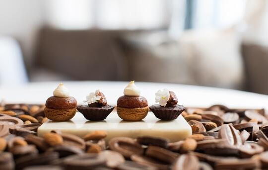 dessert chocolat noisette