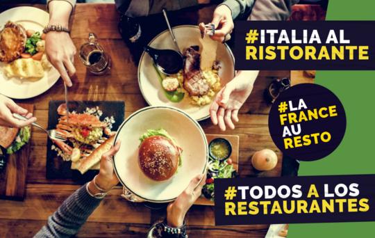 La France Au Resto, Todos a los Restaurantes, Italia Al Ristorante