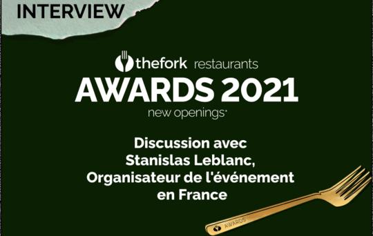 Awards 2021 - Interview Stanislas Leblanc